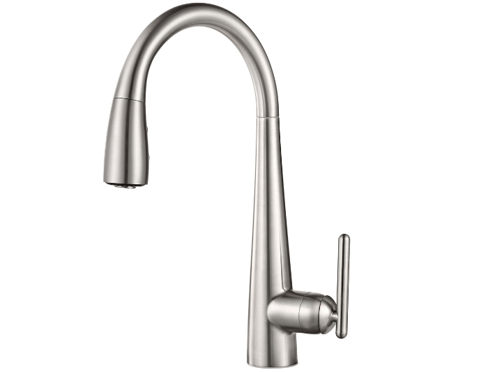 Stainless Steel Lita Pull Down Kitchen Faucet   GT529 SMS   2. Click Image  Above To Zoom Enlarge