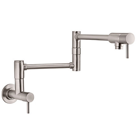 Stainless Steel Lita Wall Mount Pot Filler - GT533-PFS - 1