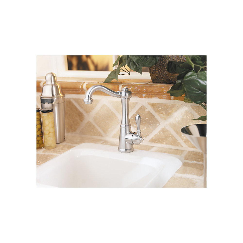 Stainless Steel Marielle 1 Handle Bar And Prep Faucet   GT72 M1SS   2
