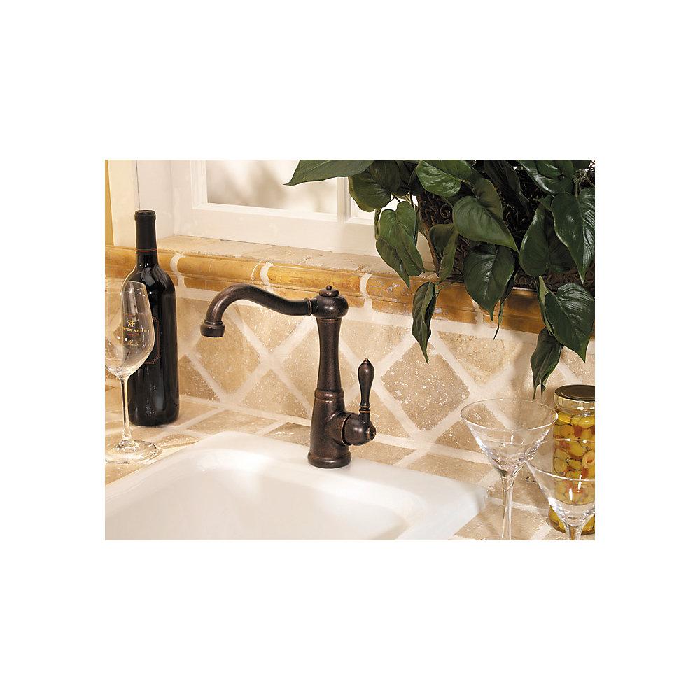 Rustic Bronze Marielle 1-Handle Bar And Prep Faucet - GT72-M1UU ...