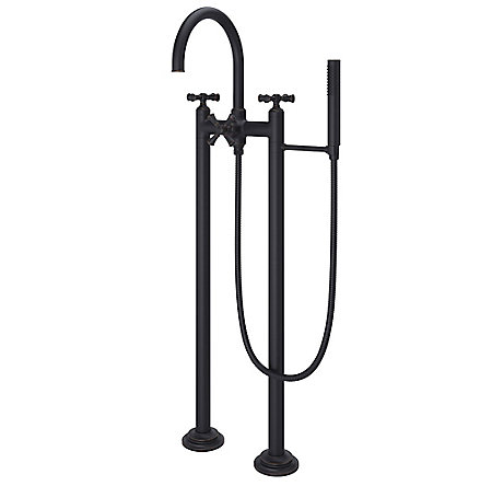 Tuscan Bronze Tisbury Optional Cross Handle - Tub Filler - HHL-LG6TBY - 2