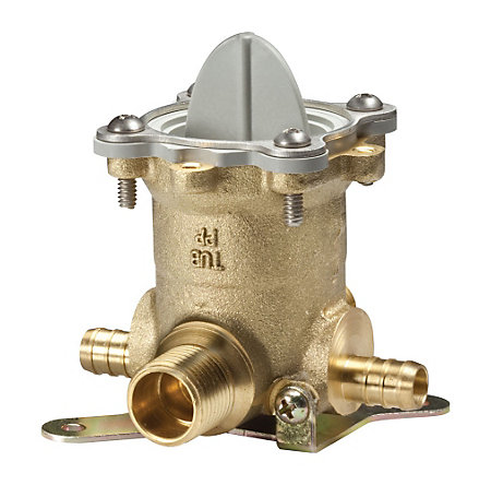 Unfinished Tub And Shower Valve Body - JV8-310P - 1