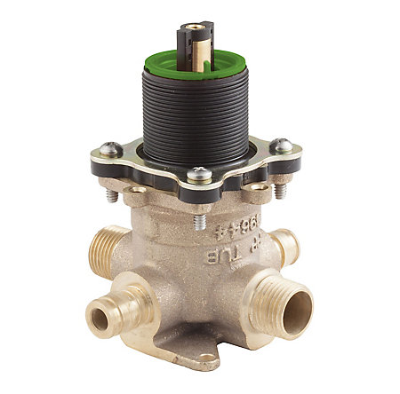 Unfinished PermaBalance™ Tub And Shower Rough Valve - JX8-410P - 1
