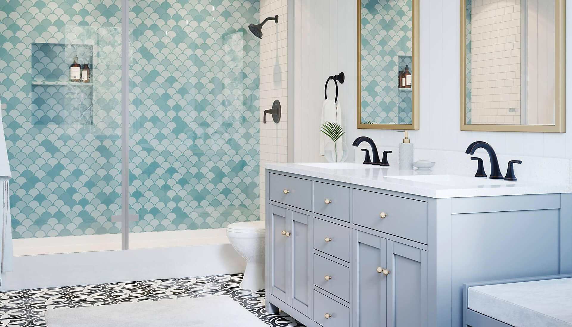 Ladera Bathroom Collection