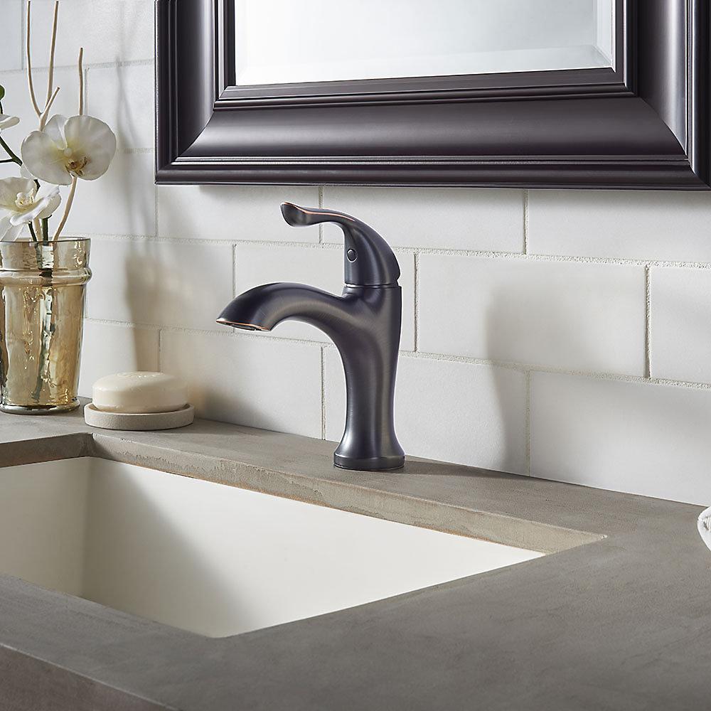 Tuscan Bronze Elden Single Control, Centerset Bath Faucet - LF-042 ...