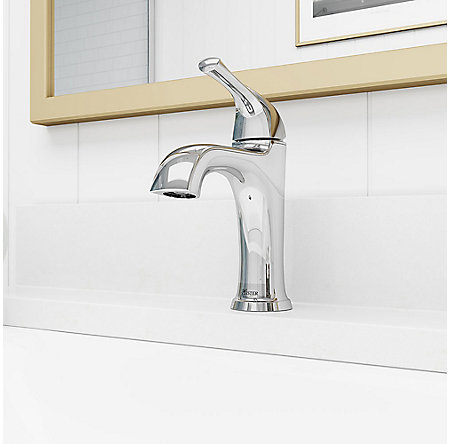 Polished Chrome Ladera Single Control Bath Faucet - LF-042-LRCC - 3