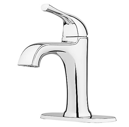 Polished Chrome Ladera Single Control Bath Faucet - LF-042-LRCC - 2
