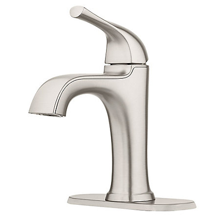 Spot Defense Brushed Nickel Ladera Single Control Bath Faucet - LF-042-LRGS - 2