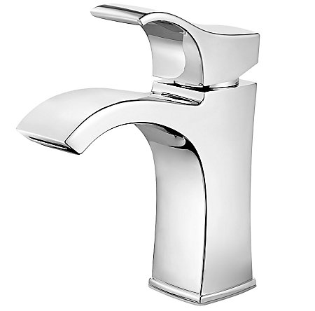 Polished Chrome Venturi Single Control, Centerset Bath Faucet - LF-042-VNCC - 1