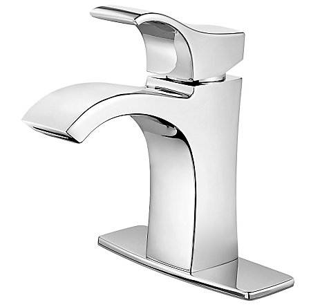 Polished Chrome Venturi Single Control, Centerset Bath Faucet - LF-042-VNCC - 2