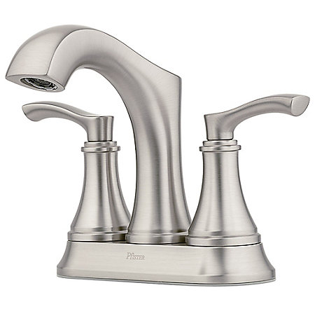 Spot Defense Brushed Nickel Auden Centerset Bath Faucet - LF-048-ADGS - 1