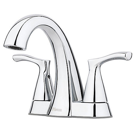 Polished Chrome Masey Centerset Bathroom Faucet - LF-048-MCCC - 1