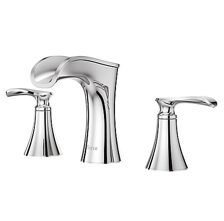 Polished Chrome Jaida Widespread Bath Faucet - LF-049-JDCC - 1