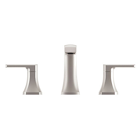 Spot Defense Brushed Nickel Penn Widespread Bath Faucet - LF-049-PEGS - 4