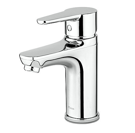 Polished Chrome Pfirst Modern Single Control Bath Faucet - LG142-0600 - 1