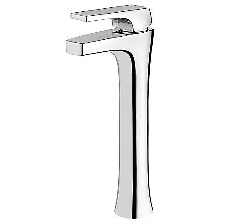 Polished Chrome Kelen Single Handle Vessel Faucet - LG40-MF0C - 1