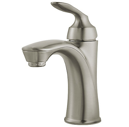 Brushed Nickel Avalon Single Control Bath Faucet - LG42-CB1K - 1
