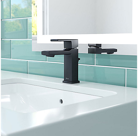 Black Deckard Single Control Bath Faucet - LG42-DA0B - 2