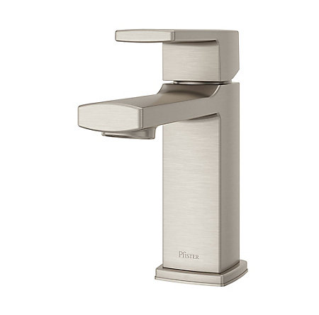 Brushed Nickel Deckard Single Control Bath Faucet - LG42-DA0K - 1
