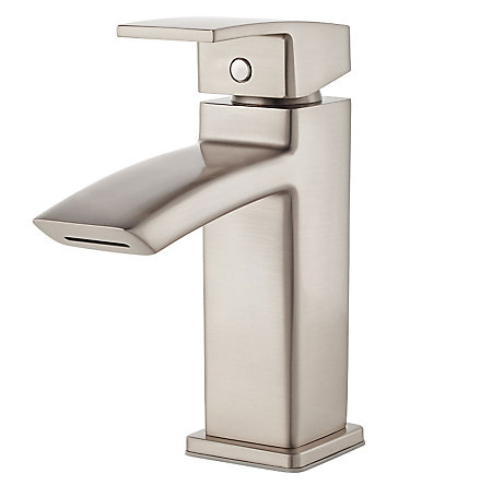 Brushed Nickel Kenzo Single Control Bath Faucet - LG42-DF1K - 1