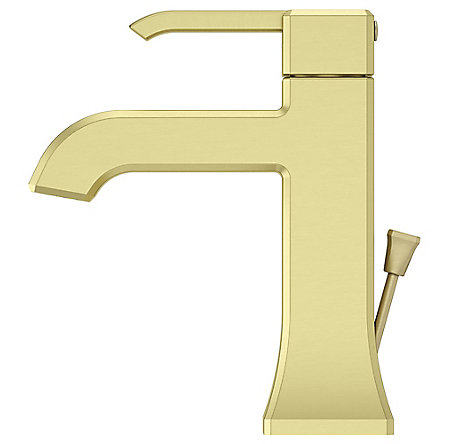 Brushed Gold Park Avenue Single Control, Centerset Bath Faucet - LG42-FE0BG - 4