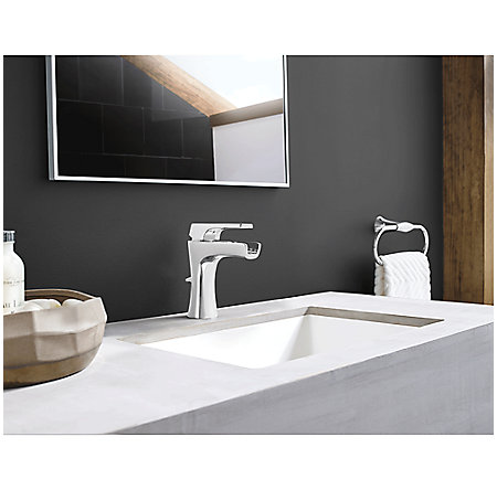 Polished Chrome Kelen Single Control Trough Bath Faucet - LG42-MF1C - 2