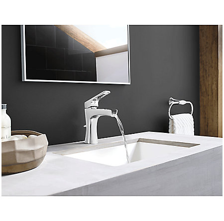 Polished Chrome Kelen Single Control Trough Bath Faucet - LG42-MF1C - 3