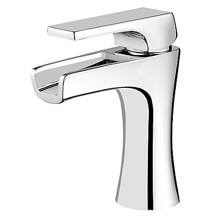 Polished Chrome Kelen Single Control Trough Bath Faucet - LG42-MF1C - 1
