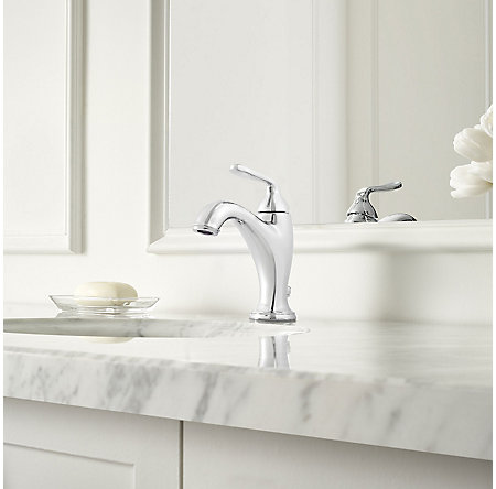 Polished Chrome Northcott Single Control Bath Faucet - LG42-MG0C - 2
