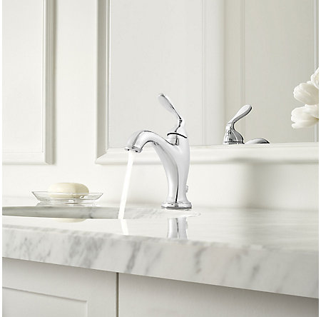 Polished Chrome Northcott Single Control Bath Faucet - LG42-MG0C - 3