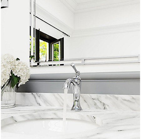 Polished Chrome Tisbury Single Control Bath Faucet - LG42-TB0C - 4