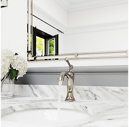 Polished Nickel Tisbury Single Control Bath Faucet - LG42-TB0D - 4