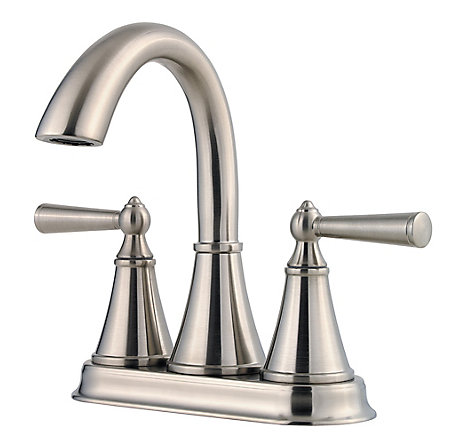 Brushed Nickel Saxton Centerset Bath Faucet - LG48-GL0K - 1