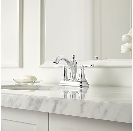 Polished Chrome Northcott Centerset Bath Faucet - LG48-MG0C - 2