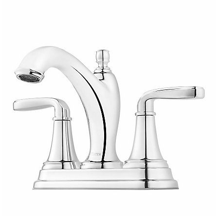 Polished Chrome Northcott Centerset Bath Faucet - LG48-MG0C - 1