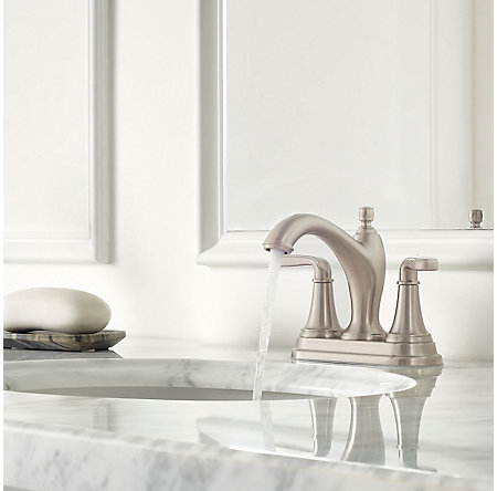 Brushed Nickel Northcott Centerset Bath Faucet - LG48-MG0K - 3