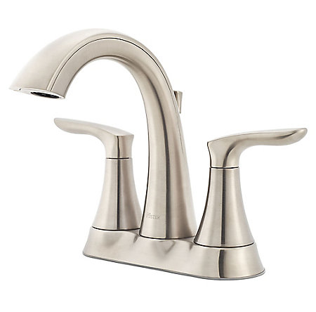 Brushed Nickel Weller Centerset Bath Faucet - LG48-WR0K - 1