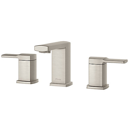 Brushed Nickel Deckard Widespread Bath Faucet - LG49-DA0K - 1