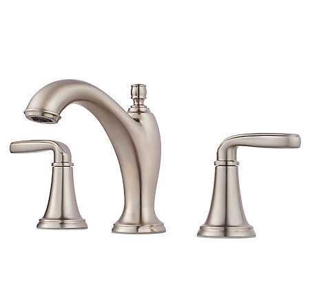 Brushed Nickel Northcott Widespread Bath Faucet - LG49-MG0K - 1