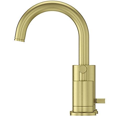 brushed gold contempra widespread bath faucet lg49 nc1bg pfister faucets. Black Bedroom Furniture Sets. Home Design Ideas