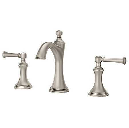 Brushed Nickel Tisbury Widespread Bath Faucet - LG49-TB0K - 1