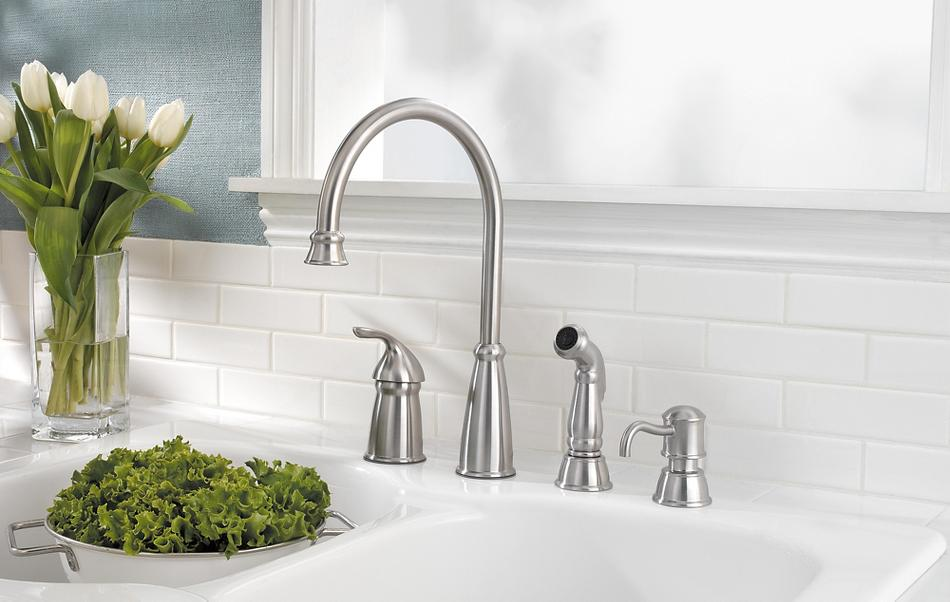 Swell Avalon Kitchen Faucet Collection Pfister Faucets Home Interior And Landscaping Oversignezvosmurscom