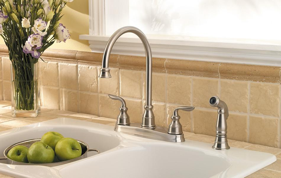 Enjoyable Avalon Kitchen Faucet Collection Pfister Faucets Home Interior And Landscaping Oversignezvosmurscom