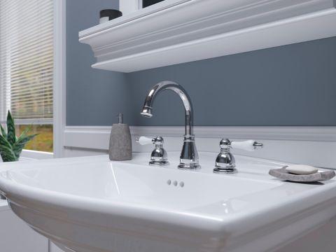 Henlow Faucet Cutout