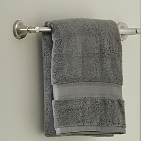 Northcott Towel on a Towel Bar