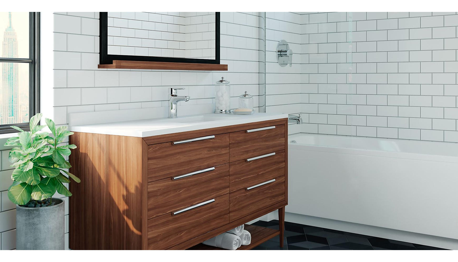 Pfirst Modern Bathroom Collection