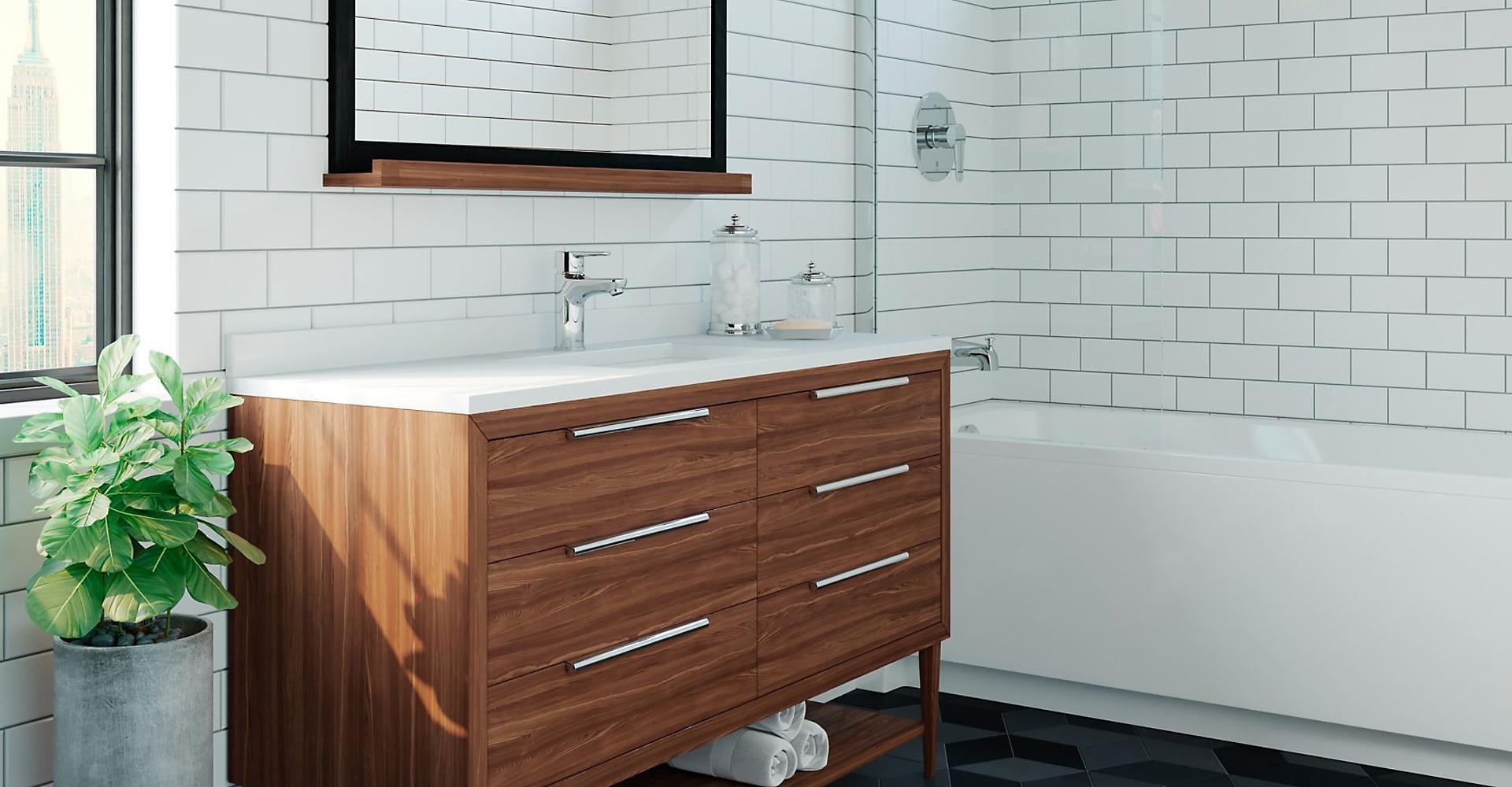 Pfirst Modern Bathroom Collection