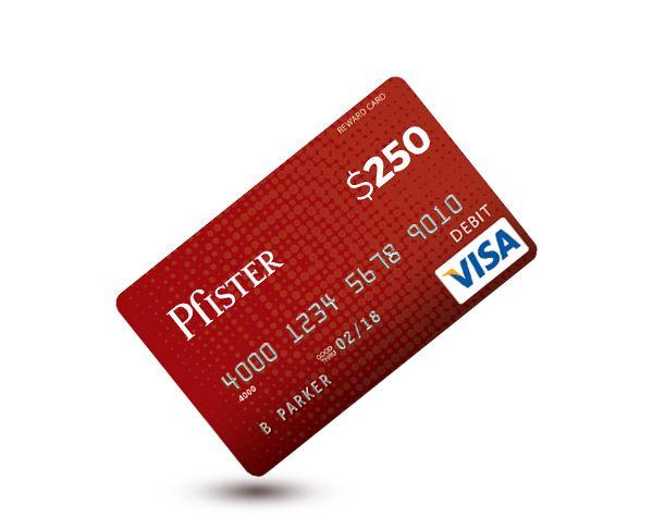 Pfister Visa Gift Card
