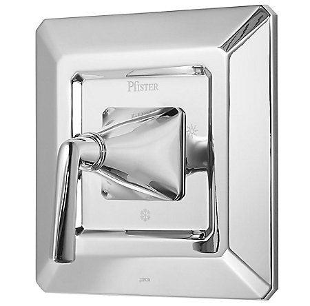 Polished Chrome Park Avenue Valve, Trim Only - R89-1FEC - 1