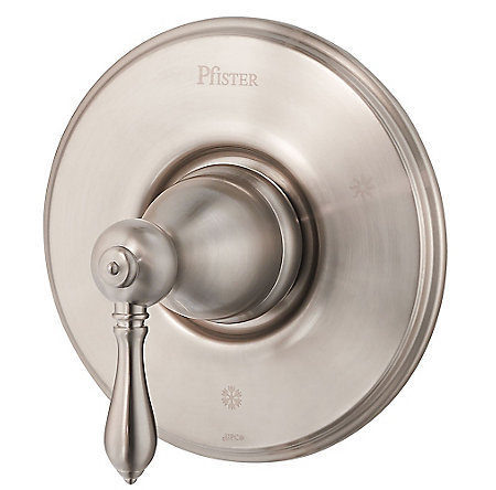 Brushed Nickel Marielle Valve, Trim Only - R89-1MBK - 1